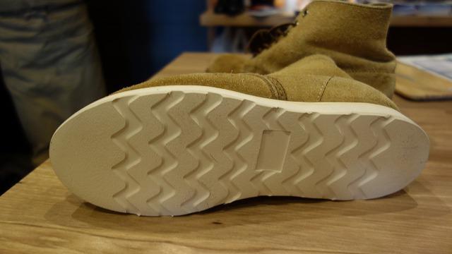 靴底の磨り減りAFTER