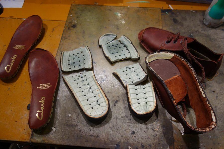 靴底の破損BEFORE