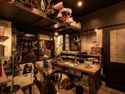 東屋靴店 靴の工房